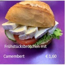 Broetchen-Camembert