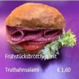 Broetchen-Truthansalami